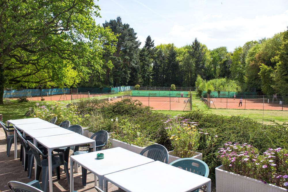 Terrains de tennis extérieur