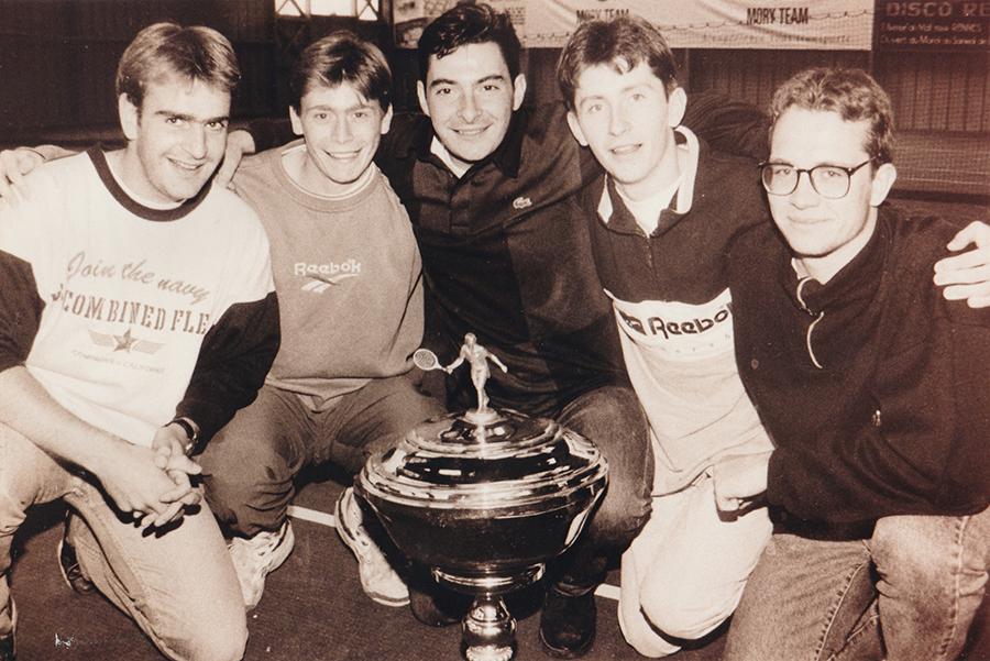Equipe National au Garden en 1991