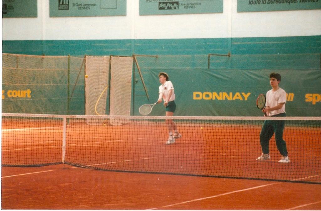 Tennis professionnel - Régis Lavergne - Frédéric Menou - Garden Rennes